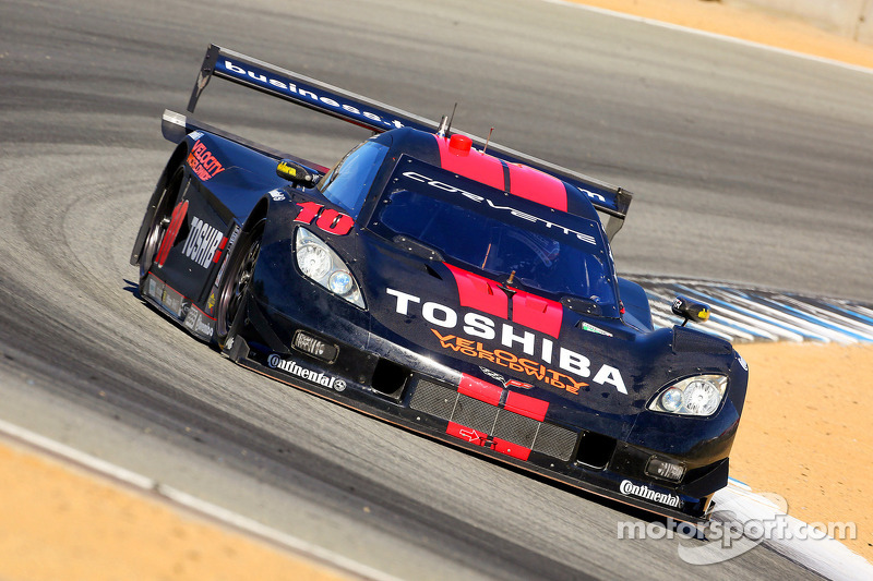2nd place on starting grid for Wayne Taylor Racing at Laguna Seca