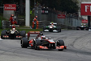 Formula 1 Race report Just one point for McLaren on the Italian GP