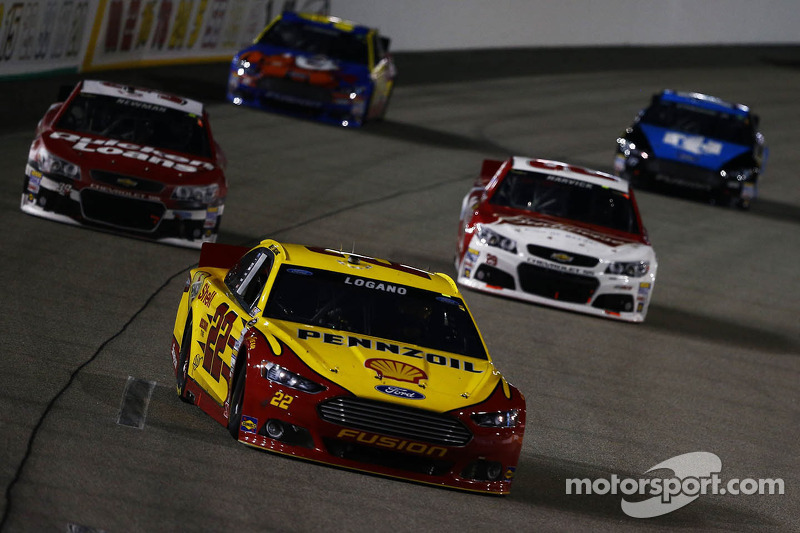 Logano secures first career spot in Chase after a battle at Richmond