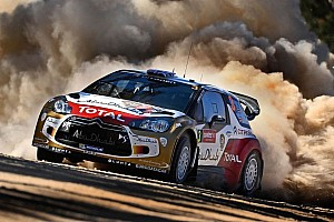 WRC Qualifying report Meeke wins Australia qualifying