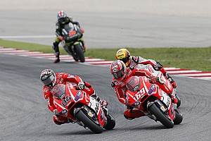 MotoGP Race report Dovizioso, Hayden eighth and ninth at Misano