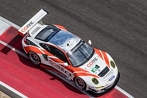 ALMS Qualifying report Both CORE entries to start fifth in class after wet COTA qualifying