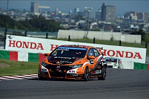 WTCC Qualifying report Michelisz claims pole as others fail at Suzuka