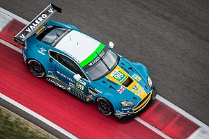 WEC Breaking news Aston Martin leads both classes in Austin at the halfway mark
