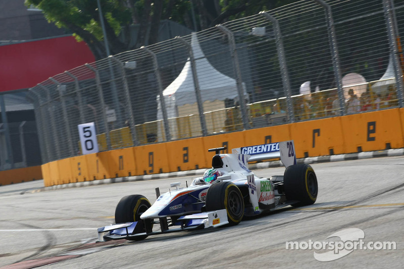 Trident Racing's Berthon is top-ten in Singapore