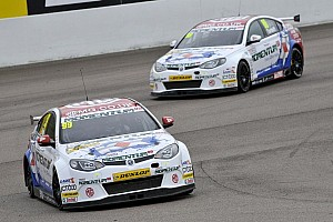 BTCC Qualifying report Plato on pole with teammate Tordoff second fastest in Silverstone