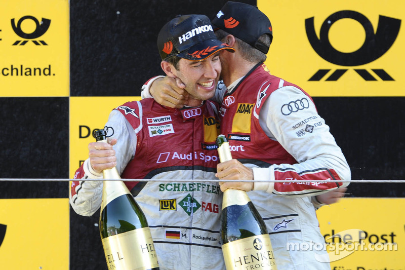 The 2013 DTM Champion drives an Audi