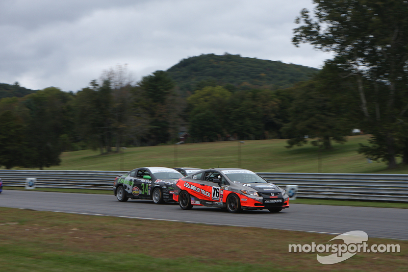 Tough close to 2013 CTSCC at Lime Rock Park for Mason and Burrows