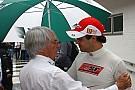 Toro Rosso an option for Massa - Ecclestone