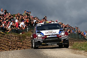 WRC Leg report Neuville forced to forfeit Rallye de France lead