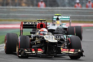 Formula 1 Race report Double podium for Lotus at korea