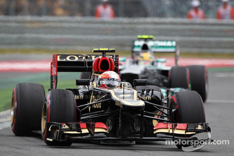 Double podium for Lotus at korea