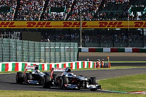 Formula 1 Race report Maldonado finished 16th with Bottas 17th in today's Japanese Grand Prix