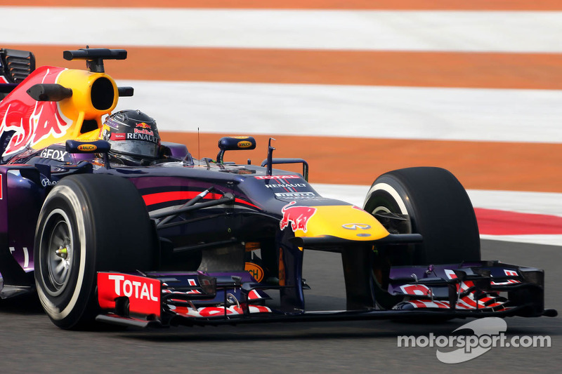 Red Bull Racing driver dominates FP2 at Buddh International