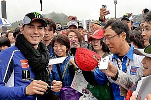 MotoGP Practice report Yamaha Racing: fog cancels Motegi practice