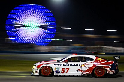 Moment of the Year Award caps big 2013 season for Stevenson Motorsports