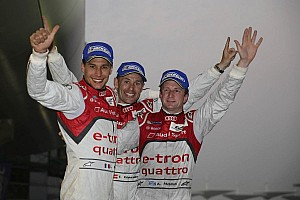 WEC Special feature Duval/Kristensen/McNish World Champions with Audi