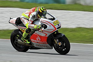 MotoGP Testing report Andrea Iannone concludes first day of 2014 season