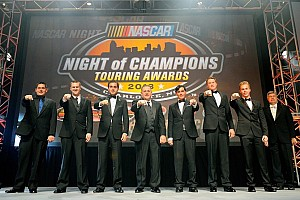 NASCAR Breaking news NASCAR Touring Series champions honored in Charlotte