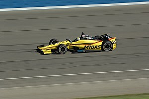 IndyCar Testing report Rahal optimistic after completing the first of a two day test