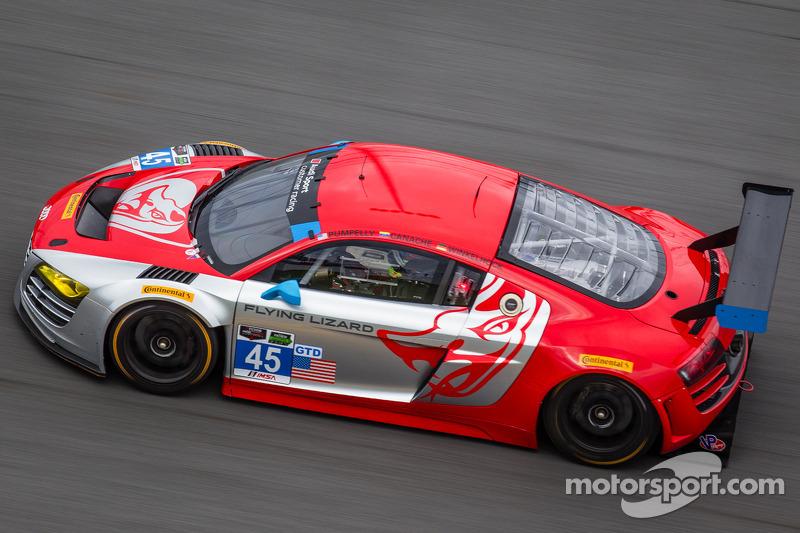 Flying Lizard Motorsports sets lineup, debuts livery