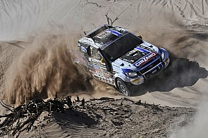 Dakar Stage report Team Ford Racing ends tough first week on Dakar with competitive results