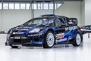 WRC Breaking news A new look for a new season: M-Sport's 2014 livery revealed