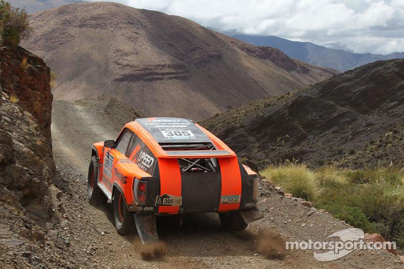 Dakar 2014: Gordon finishes 100th stage