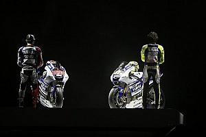 MotoGP Breaking news Yamaha unveils 2014 challenger in Jakarta