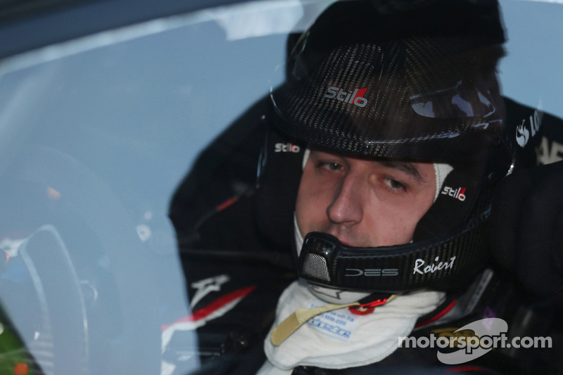 A new challenge: Kubica prepares for Swedish snow