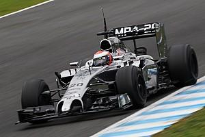 Formula 1 Testing report McLaren Magnussen got his first full day at Jerez