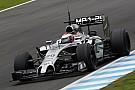 McLaren Magnussen got his first full day at Jerez