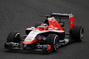 Formula 1 Testing report Second positive day of running with the Marussia MR03