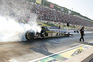 NHRA Qualifying report Tony Schumacher qualified 10th for Sundays eleminations