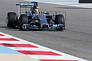 Mercedes AMG Petronas after first day of Bahrain test