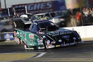 NHRA Race report Force claims 148th no. 1 qualifier at Phoenix