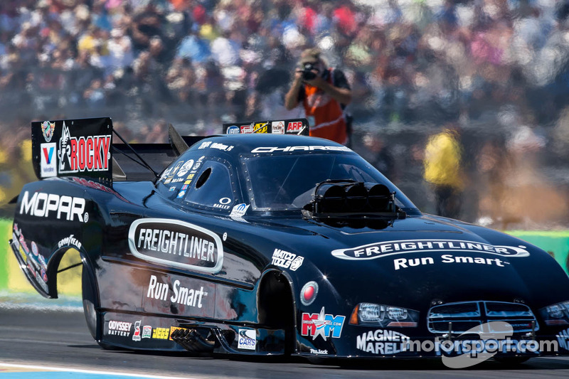 Wild Horse Pass proves tough for Hagan Funny Car team after opening-round loss to DSR teammate