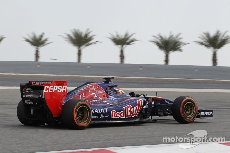 Not a full day test for Toro Rosso at Bahrain's Sakhir circuit