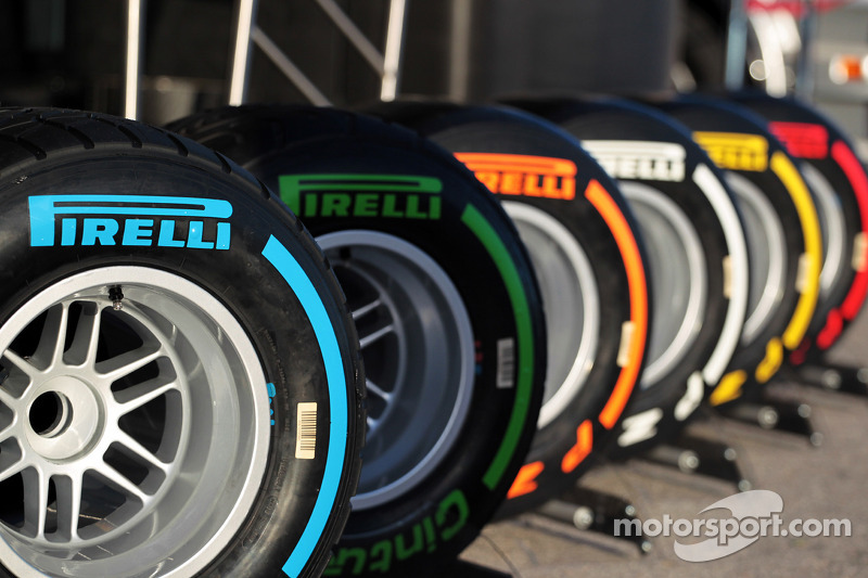 Pirelli announces tyre choice for first four Grands Prix