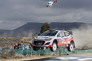 WRC Stage report Two-car finish remains objective for Hyunda Team after another solid day in Mexico