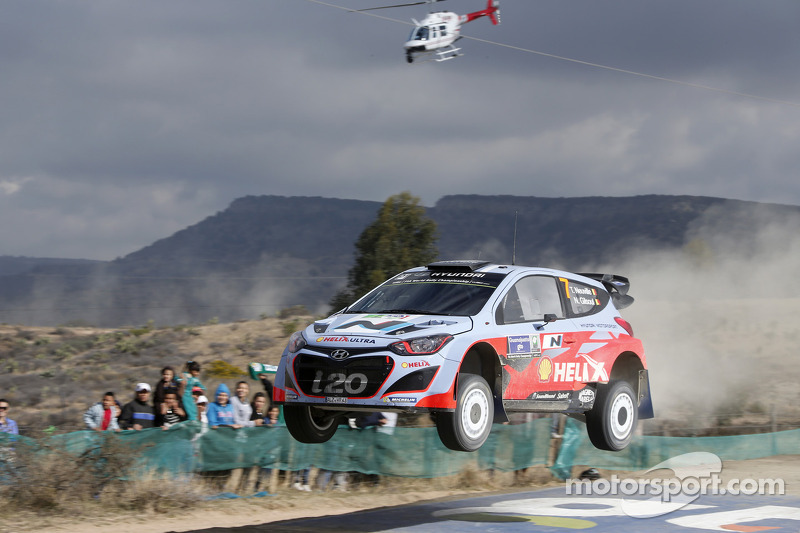 Two-car finish remains objective for Hyunda Team after another solid day in Mexico