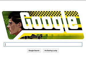 Formula 1 Breaking news The late Ayrton Senna honored on his birthday with Google Doodle
