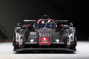 Le Mans Preview Audi presents the new R18 in urban traffic at Le Mans
