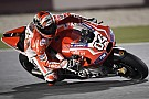 Ducati's Dovizioso fourth in today's free practice sessions in Qatar