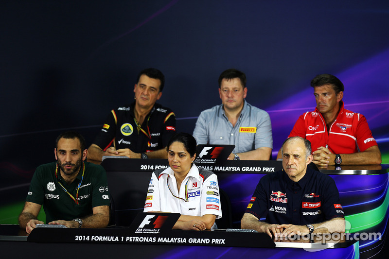 2014 Malaysian Grand Prix - Friday Press Conference