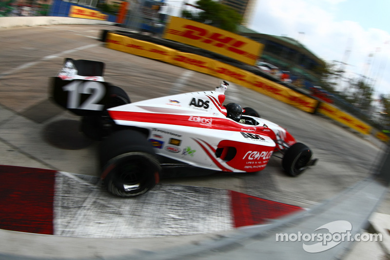 Andretti Autosport drivers finished St. Pete practice