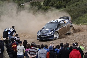 WRC Stage report M-Sport's Mikko Hirvonen leads in Portugal