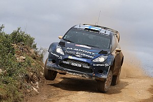 WRC Stage report Hirvonen leads at Rally de Portugal