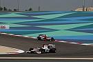 Quaife-Hobbs on the charge in Bahrain GP2