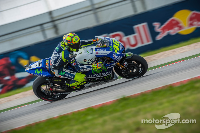 Yamaha takes to the track in Texas